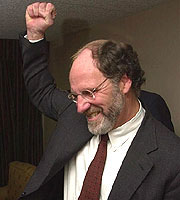 Jon Corzine wins Election